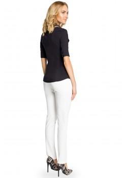 Класическа риза в черен цвят M027