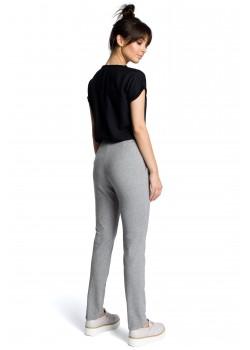 Ежедневен панталон в сив цвят B074