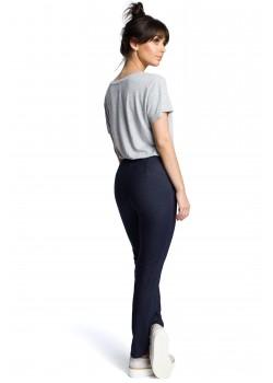 Ежедневен панталон в тъмносин цвят B074