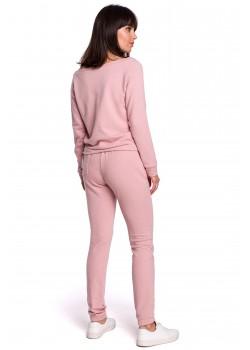Ежедневен панталон в цвят пудра B107