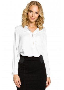 Елегантна риза в бял цвят M063