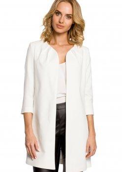 Елегантно сако в цвят екрю M193