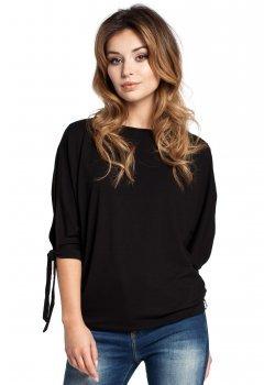 Ежедневна блуза в черен цвят B036
