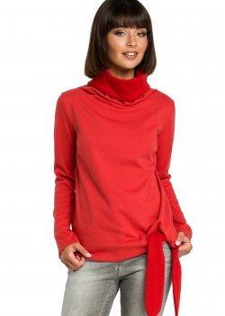 Ежедневна блуза в червен цвят B085