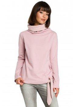 Ежедневна блуза в цвят пудра B085