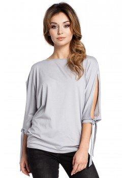 Ежедневна блуза в сив цвят B036