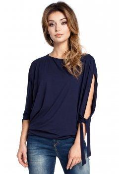 Ежедневна блуза в тъмносин цвят B036