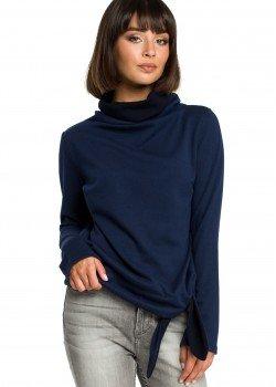 Ежедневна блуза в тъмносин цвят B085