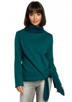 Ежедневна блуза в зелен цвят B085
