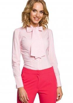 Карирана риза в розов цвят M089
