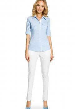 Класическа риза в светлосин цвят M027