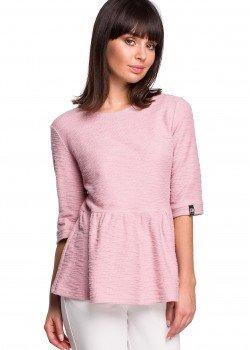 Пуловер в цвят пудра B109