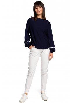 Пуловер в тъмносин цвят BK024