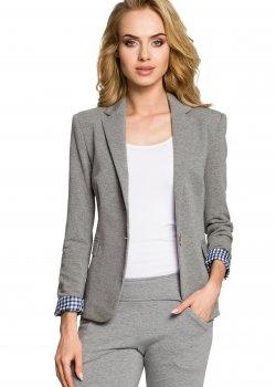 Спортно-елегантно сако в сив цвят M197