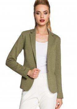 Стилно сако в тъмнозелен цвят M243