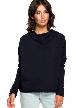 Свободна блуза в тъмносин цвят B094