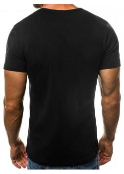 Изчистена тениска в черен цвят Breezy