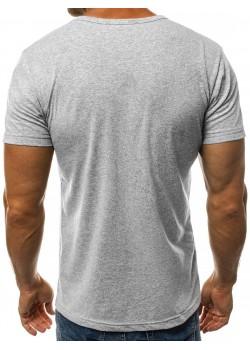 Изчистена тениска в сив цвят Breezy