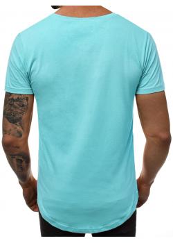 Изчистена тениска в цвят мента Breezy