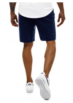 Къси панталони в тъмносин цвят J. Style