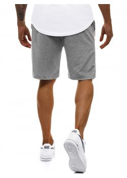 Къси панталони в сив цвят J. Style