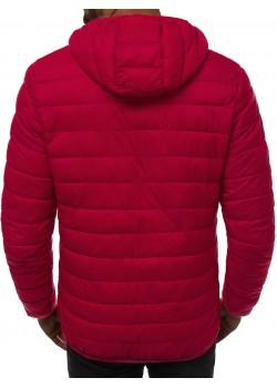 Зимно яке в цвят бордо