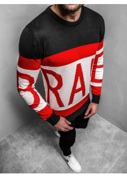 Пуловер в черен цвят с надпис Breezy