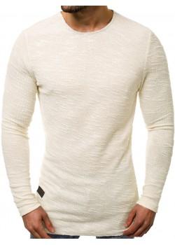 Блуза с изчистен дизайн в бежов цвят