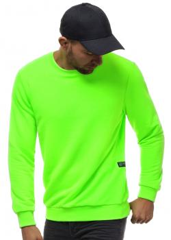 Блуза в неоново зелен цвят