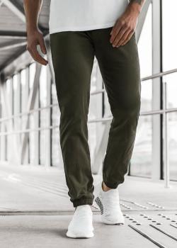 Чино панталон в цвят каки