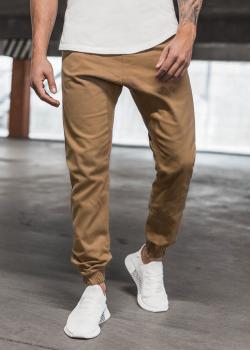Чино панталон в цвят камел