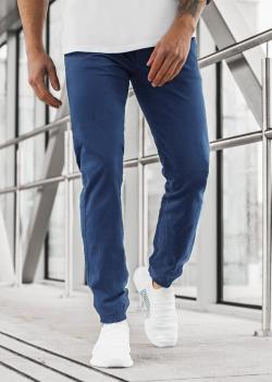 Чино панталон в син цвят
