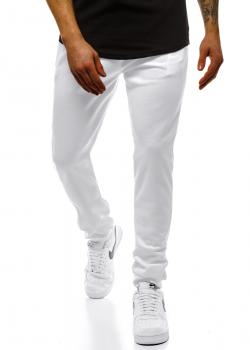 Долнище в бял цвят