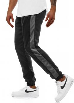 Долнище в черен цвят с джобове
