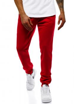 Долнище в червен цвят