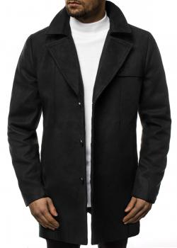 Класическо палто в черен цвят