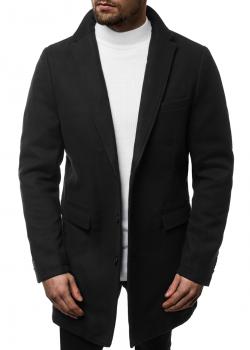 Класическо палто в черен цвят J.Boyz