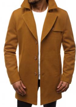 Класическо палто в цвят камел