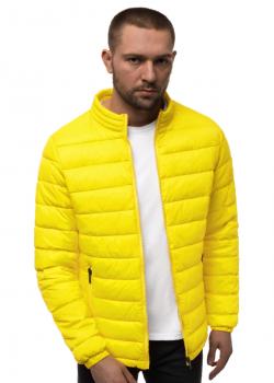 Пролетно-есенно яке в жълт цвят