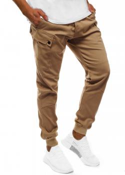 Спортен чино панталон в цвят камел