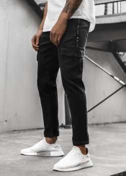 Спортен панталон в черен цвят