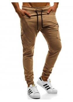 Спортен панталон в кафяв цвят