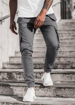 Спортен панталон в сив цвят