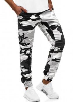 Спортен панталон в сив камулаж Athletic