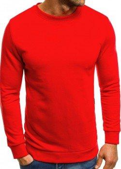 Изчистена блуза в червен цвят