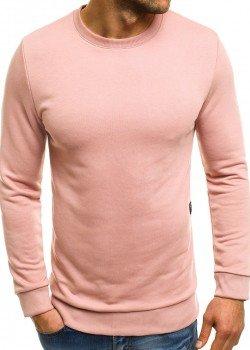 Изчистена блуза в розов цвят