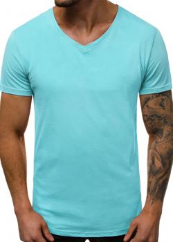 Изчистена тениска в цвят мента