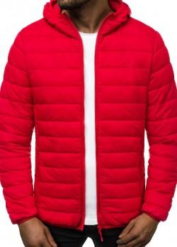 Зимно яке в червен цвят